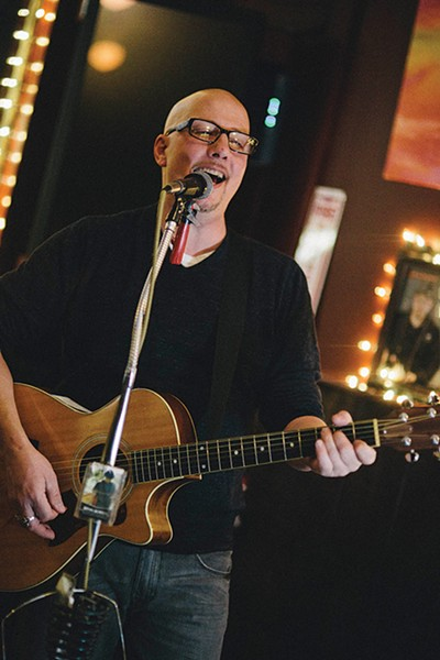 Bryan Gordon performs at The Publick House in Ellenville. - THOMAS SMITH