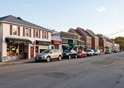 Businesses in downtown in Chappaqua - ROB PENNER