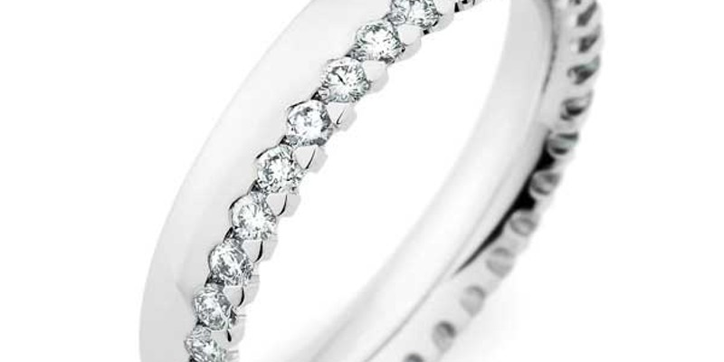 Put a Ring On It By German designer Christian Bauer. Available from Hummingbird Jewelers in Rhinebeck.