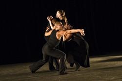 PHOTO:  PAULA LOBO - Carolyn Dorfman Dance Company