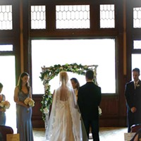 Venues for Your Vows Ceremonies take place in the Victorian Parlor, built in 1899. Jean Kallina