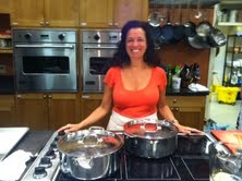 Certified Nutrition Counselor Holly Shelowitz offers cooking classes in uptown Kingston