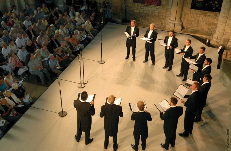 Chamber vocal ensemble Chanticleer will perform at Vassar College on October 11.