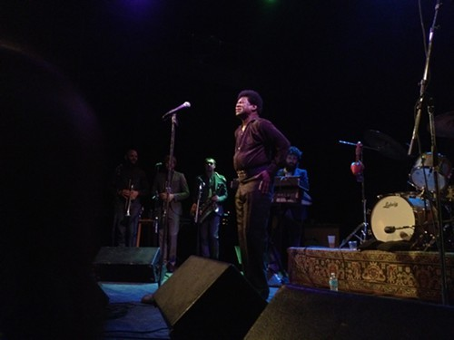 Charles Bradley and His Extraordinaires band