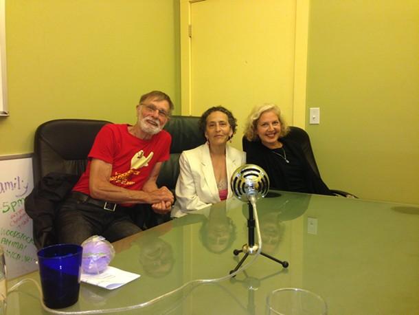 Chris Collins, Verna Gillis, and Audrey Rapoport