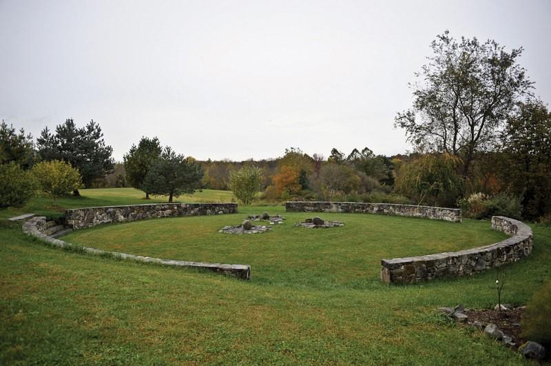 Circle of Peace at Pacem in Terris - DAVID CUNNINGHAM