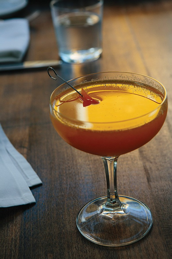 Cocktail boasts saffron and orange flavors with a hint of chili infusion - THOMAS SMITH