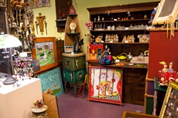 Collectible items at the Eclectic Collector - ROB PENNER