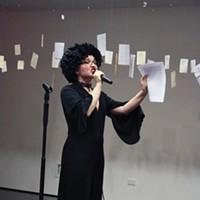 Cynthia Hopkins at Mount Tremper Arts