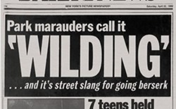 Daily News headline, April 22, 1989