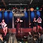 The Diamond Street Dames at Club Helsinki