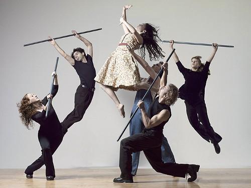 Dancers from the Vanaver Caravan Dance Institute