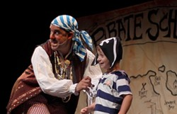 David Engel as Billy Bones in Pirate School.