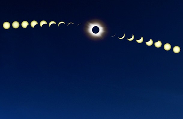 Detail from a 2006 total solar eclipse photo by Stephan Seip/APOD.
