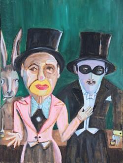Donkey/Clown/Man - MICHAEL LINDSAY-HOGG