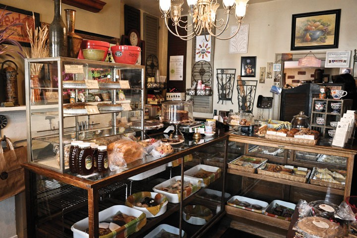 click to enlarge Downtown Breads and Bake Shop in Montgomery. - DAVID  MORRIS CUNNINGHAM