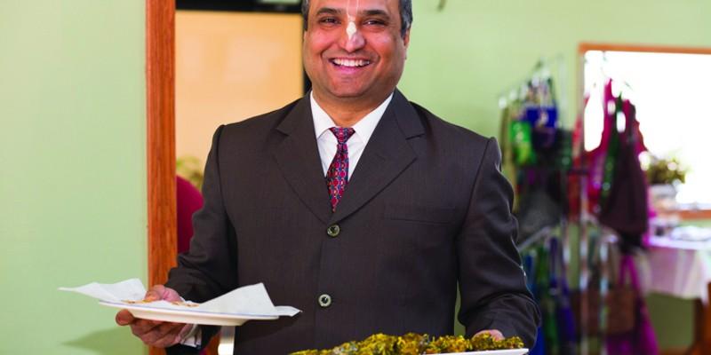 Two Dosas, Twice Daily Dr. Ashik Raval, of Nimai's Bliss Kitchen. Karen Pearson