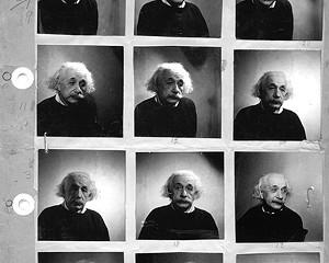 """""""Einstein Princeton"""" 1946, Fred Stein."""