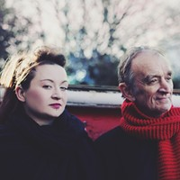 Martin and Eliza Carthy Sing at Rosendale Cafe