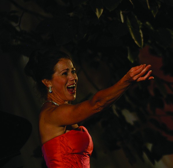 Elizabeth Futral performing at the Phoenicia International Festival of the Voice.