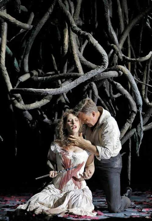 Ellie Dehn (Euryanthe) and William Burden (Adolar) - CORY WEAVER