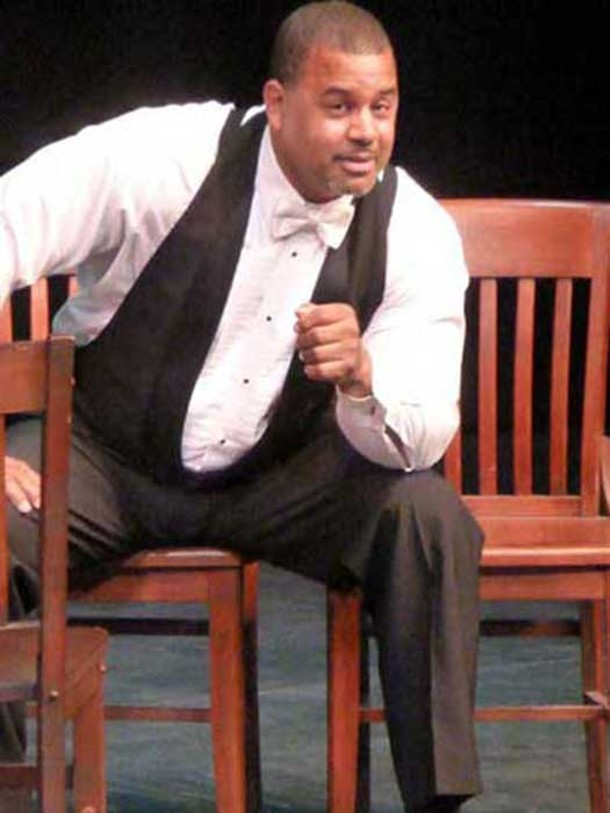 "Floyd Patterson, II starred as Paul Robeson in the Unison production of ""Paul Robeson"" at SUNY New Paltz on February 16."