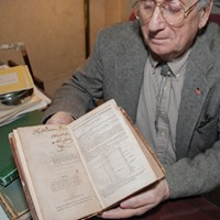 Newburgh Former Newburgh mayor Donald Presutti shares his love of history through famous documents at the Karpeles Manuscript Museum. Anne Cecille Meadows