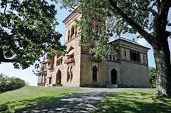 Frederic Church's Persian-style, Moorish-inspired estate, Olana. - DAVID CUNNINGHAM