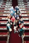 From top, left to right: Gary Allen, Douglas Nicholas,  Joan Reynolds, Jay Wenk,  Sheila Dinaburg-Azoff, Erin Sinnott, Polly M. Law, Donald Rothschild, Bill Ayton, Robert B. Wyatt, Ina Claire Gabler, Graham Blackburn, Dara Lurie, Brent Robison, Puja Thompson, Paul Keskey, Garnette Arledge, Laurie Boris.