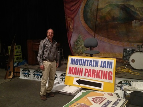 Garry Chetkof, organizer of Mountain Jam