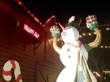 Giant Frosty at A Frosty Fest