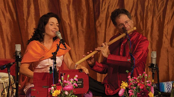 Gina Sala and Steve Gorn. Sala and Gorn will perform with Daniel Paul in Hudson and Shady this month. - MELISSA DAVIS