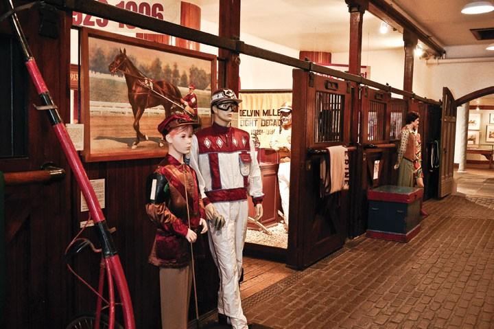 Harness Racing Museum in Goshen. - DAVID MORRIS CUNNINGHAM