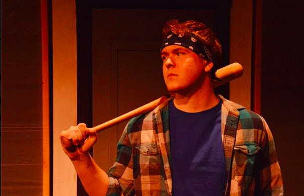 """Harrison Forman in """"Safe,"""" a new musical by Frank McGinniss at the Center for Performing Arts in Rhinebeck. - KIRSTEN EDLUND-TUNKEL"""