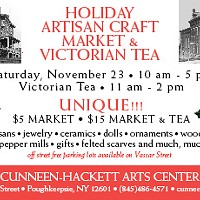 Holiday Artisan Craft Market and Victorian Tea