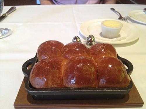House-made brioche bread with sea salt