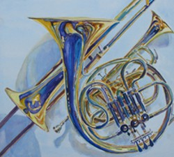 JENNY ARMITAGE, ARTIST - Hudson Chorale: Gloricous Colors of Chorus and Brass