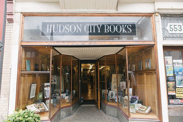 Hudson City Books on Warren Street. - THOMAS SMITH