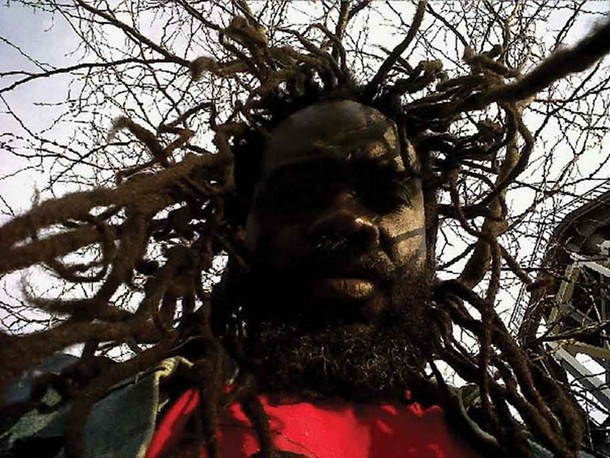 """Iyaba Ibo Mandingo performs his one-man show """"unFramed"""" at the Railroad Playhouse in Newburgh on May 13."""