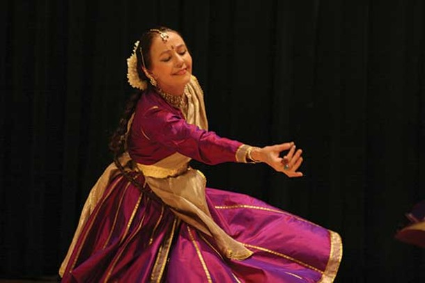 Janaki Patrik, artistic director and co-founder of the Kathak Ensemble & Friends, will perform at SUNY Ulster this month. - BRIANA BLASKO