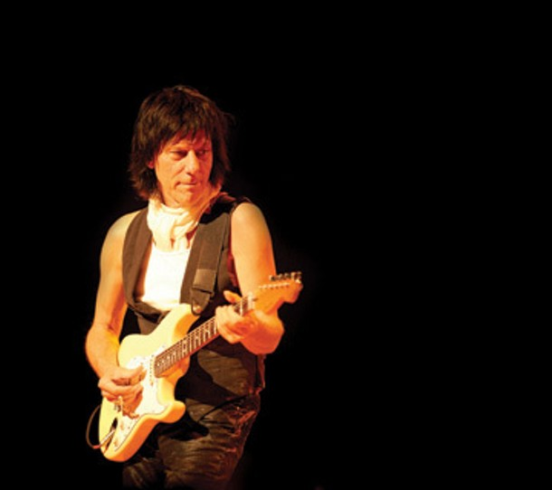 Jeff Beck will play at the Ulster Performing Arts Center in Kingston on June 17 at 7:30pm.