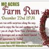 Jingle Farm Run coming to Rhinebeck