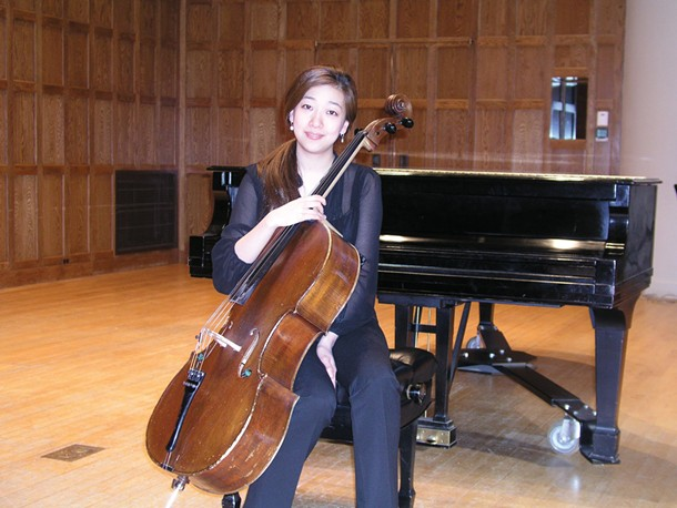 Jiyoung Lee, a cellist from the Juilliard School, won the 40th annual Hudson Valley Philharmonic String Competition on March 11 at Vassar College's Skinner Hall.