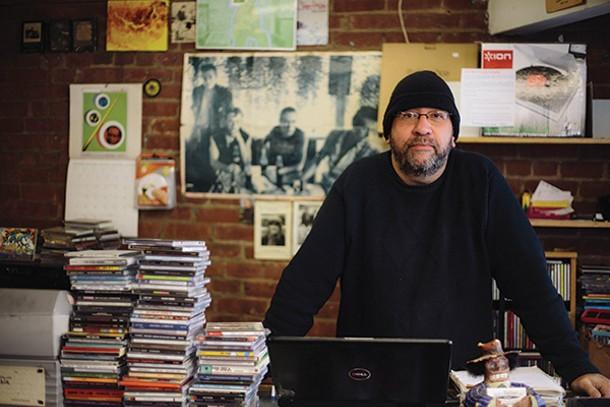 John Lefsky, owner of Jack's Rhythms. - THOMAS SMITH