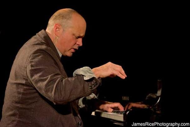 John Medeski performs with Tisziji Munoz at the Falcon on February 15.