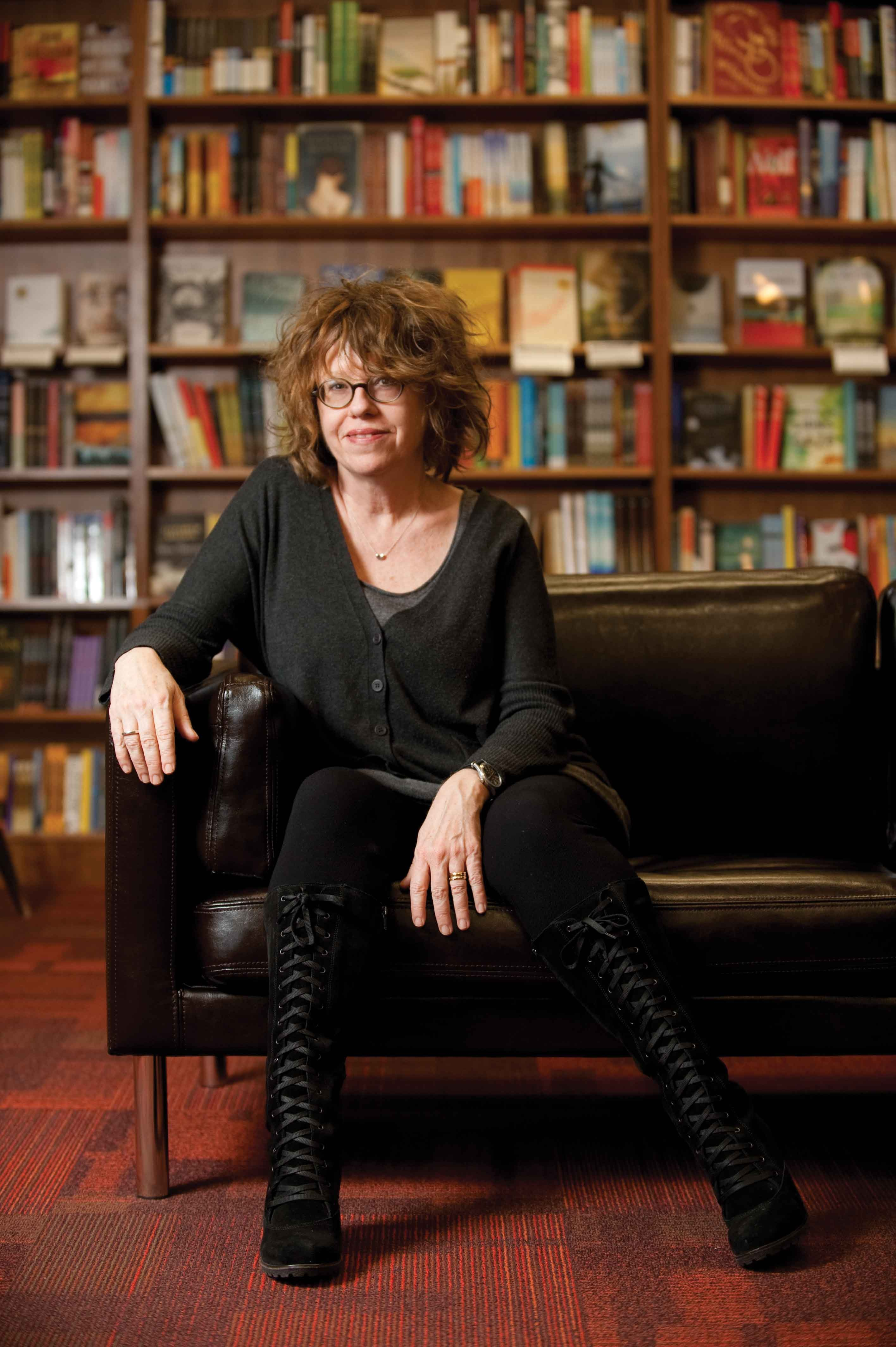 click to enlarge Judy Blundell at Oblong Books & Music in Rhinebeck. -  JENNIFER MAY