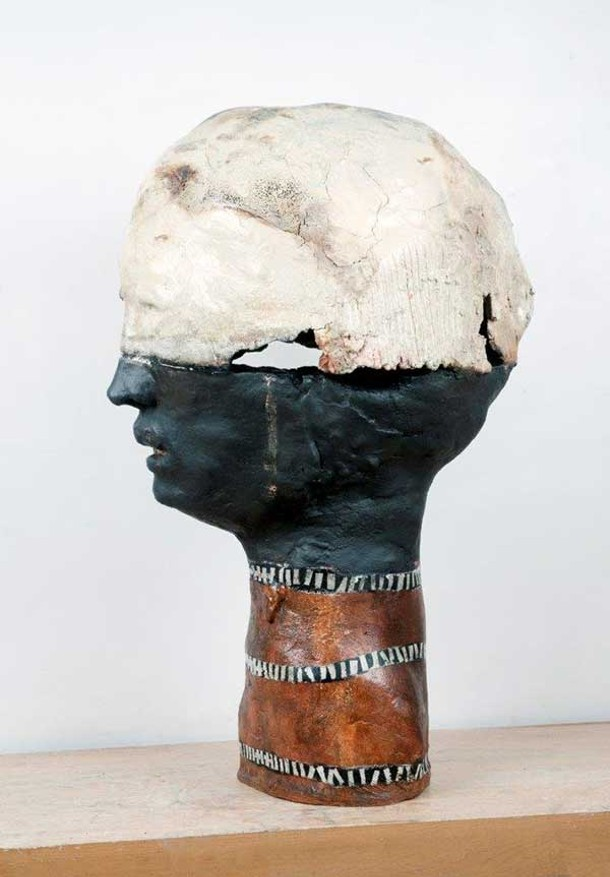 """Judy Sigunick's sculpture """"Ariel"""" featured in """"Group Show #5: Mostly 3D"""" at Wired Gallery in High Falls."""