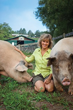 Kathy Stevens, Catskill Animal Sanctuary founder