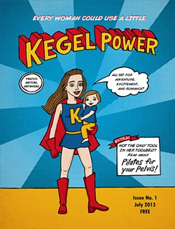 Kegel Woman saves the day.