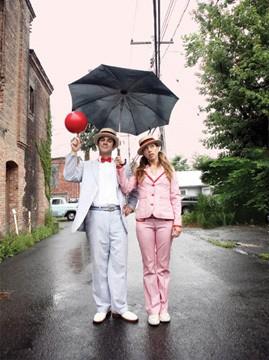 Keith Nelson and Stephanie Monseu.